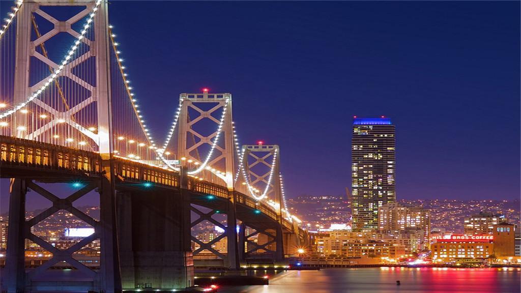 舊金山360度全方位夜遊(敞篷車/觀賞日落/天際線美景/15人小團)