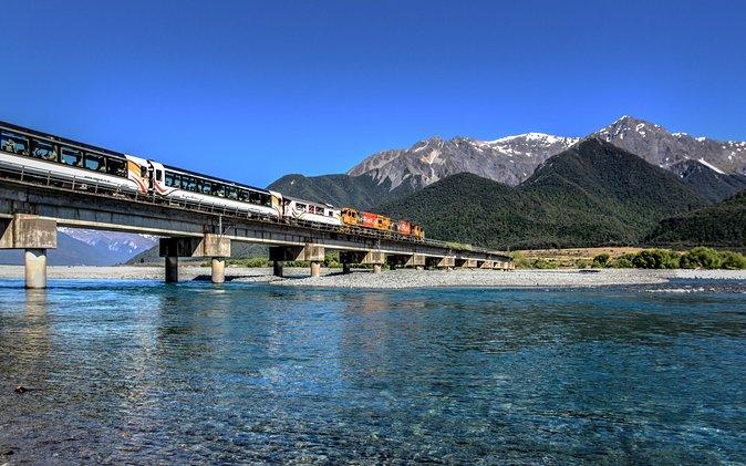 TranzAlpine Train Pass from Christchurch to Greymouth