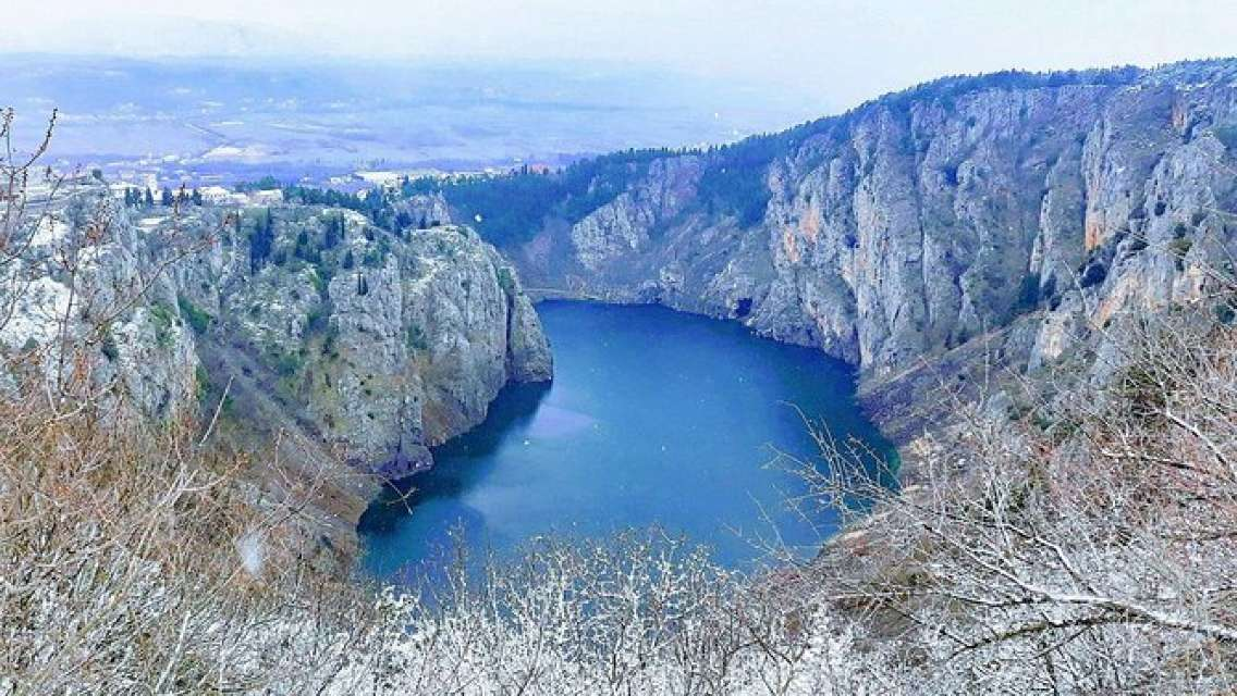 Blue & Red Lake Small Group Tour in Imotski with Food and Wine tasting