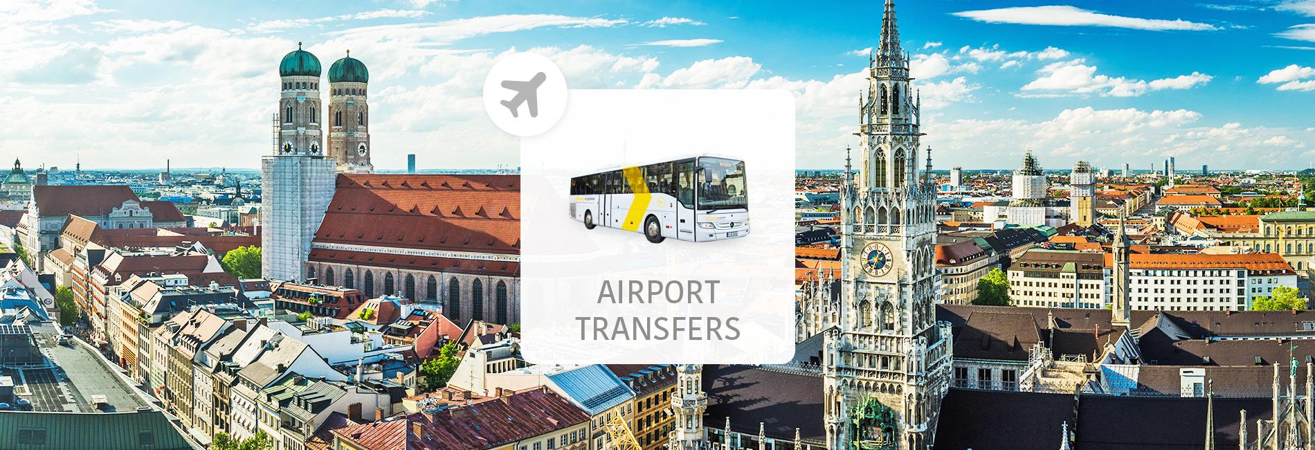 【慕尼黑機場接駁】德國慕尼黑機場特快巴士車票 Lufthansa Express