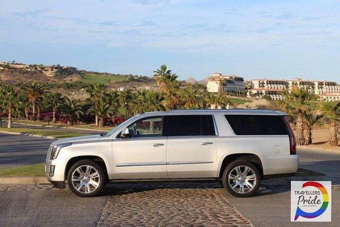 Luxury Private Escalade Meet & Greet Round Trip San Jose del Cabo