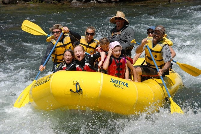 Full Day Whitewater Rafting on the South Fork American River