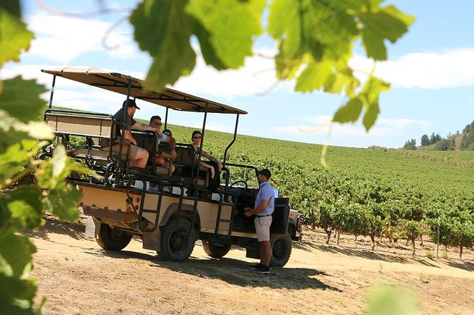 Full-Day Stellenbosch 4x4 Wine Safari and Wine Tasting Voyage Private Tour
