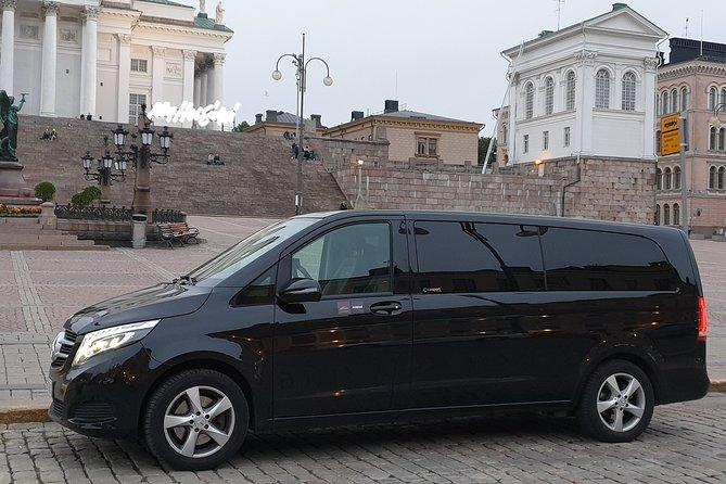 Private limousine around Helsinki