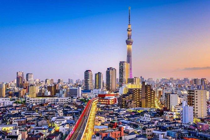 1日東京プライベート観光ツアーー英語ができるドライバー