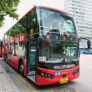 Seoul City Tour Bus Open-top (Panorama Course) + N Seoul Tower Cable Car Round Ticket