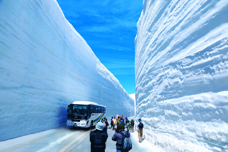 日本立山黑部阿爾卑斯雪之大谷一日遊(一人成團)