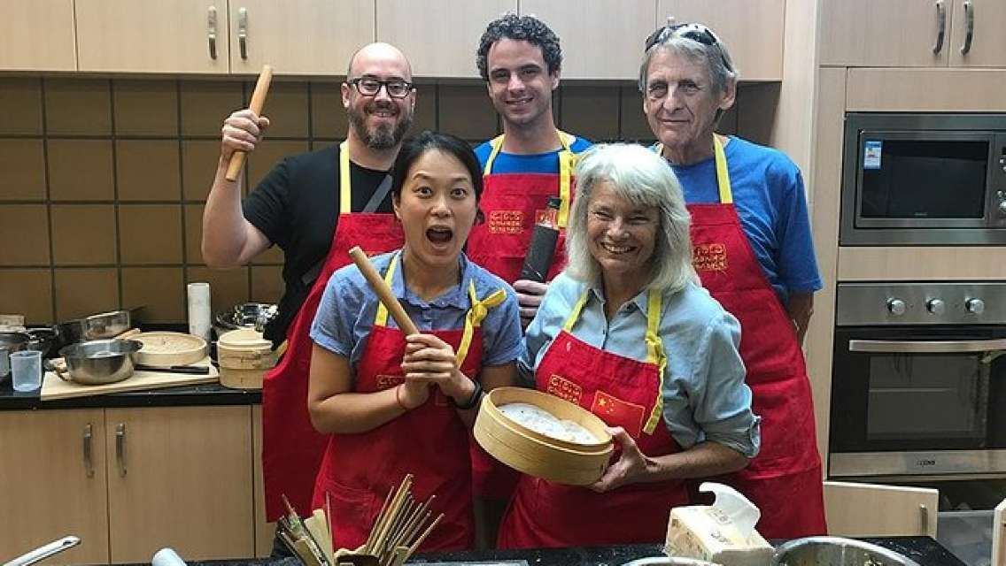 3-Hour Chinese Kitchen Cooking Class: Steamed Colorful Dumplings
