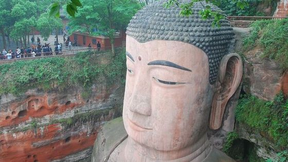 One Day Private Tour of Leshan Giant Buddha, Huanglongxi Ancient Town