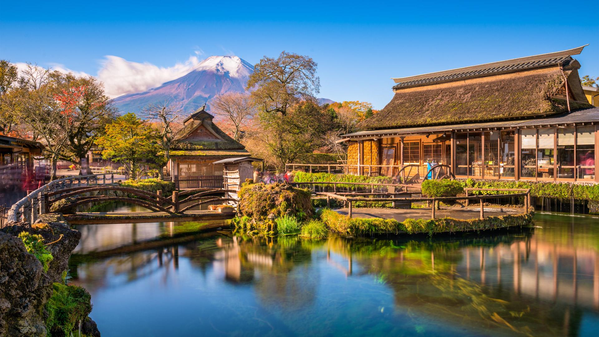 【東京出発】富士山1日ツアー:富士山五合目・忍野八海・河口湖