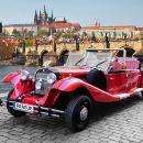 Prague Private Vintage Car Tour & Guided Walking Tour