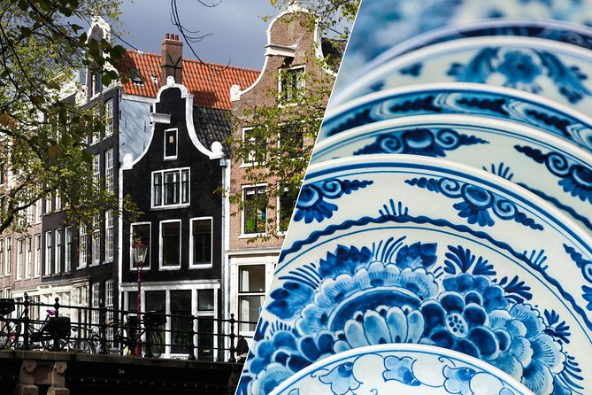 Full-Day Super Saver: Guided Amsterdam City Tour + Delft, The Hague & Madurodam