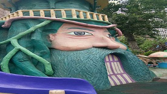 Big windmill amusement park