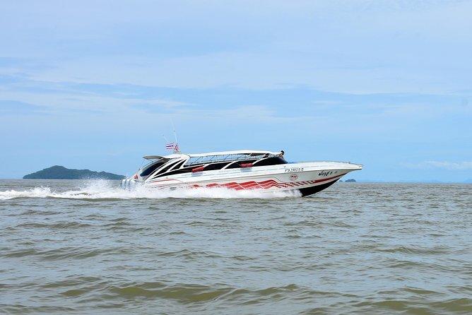 Koh Lanta to Langkawi by Satun Pakbara Speed Boat and Ferry
