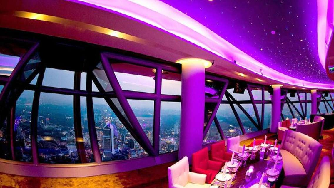 Luxury Dining Experience at Revolving Restaurant in Kuala Lumpur Tower