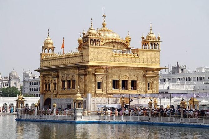 Full-Day City Tour of Amritsar visit Golden Temple and India-Pakistan Border