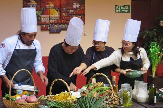 Ecuadorian Cooking Class in Quito + Local Market Tour & Exotic Fruit Tasting