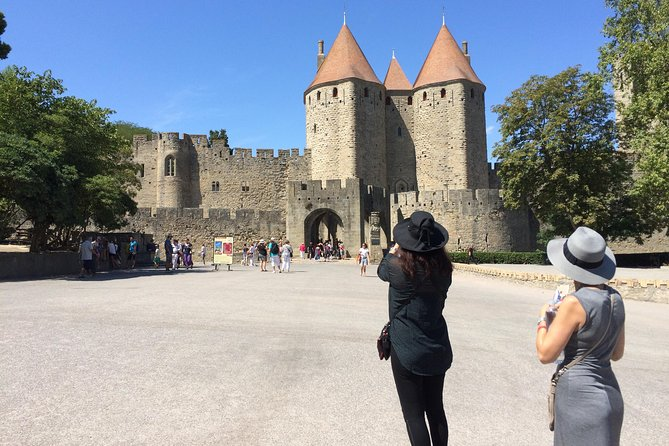 Half day tour to the Cité de Carcassonne and the Canal du Midi. From Toulouse.