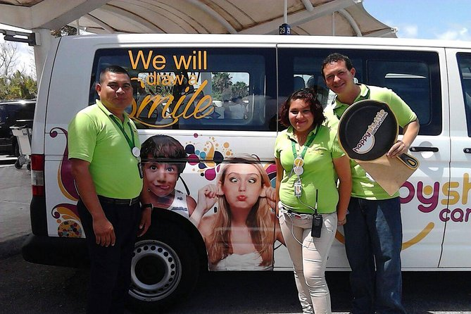 Private Roundtrip Transportation from Cancun Airport to Ferry Isla Mujeres