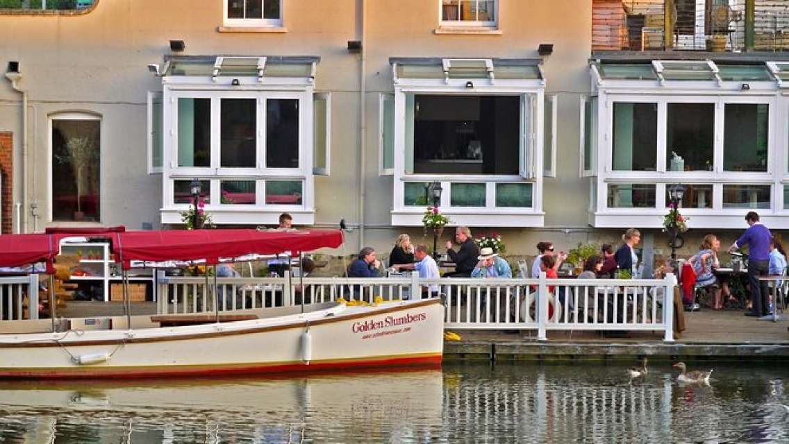 Sundowner Cruise with Three Course Riverside Dining