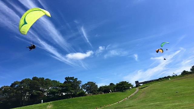 台東鹿野高台飛行傘體驗