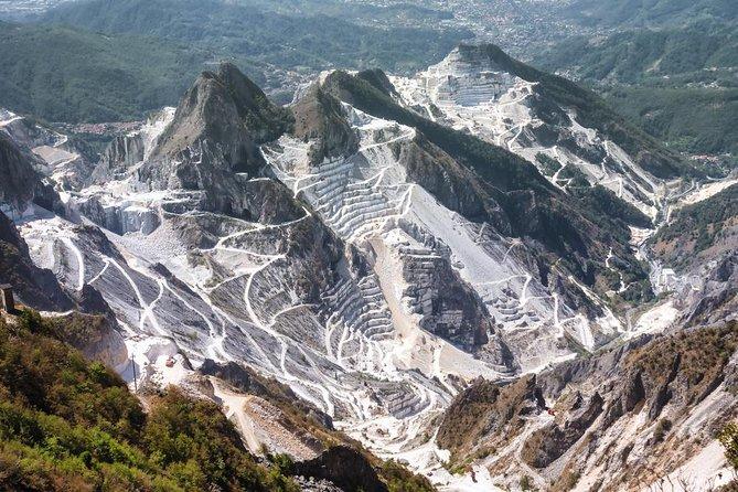 Carrara: Exclusive Marble Cave Jeep Tour Adventure