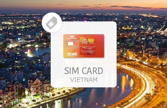 【越南上網 SIM 卡】Vietnamobile 30 天上網電話卡(新山一機場取件)