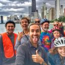 Chicago Sites at Night Bike Tour