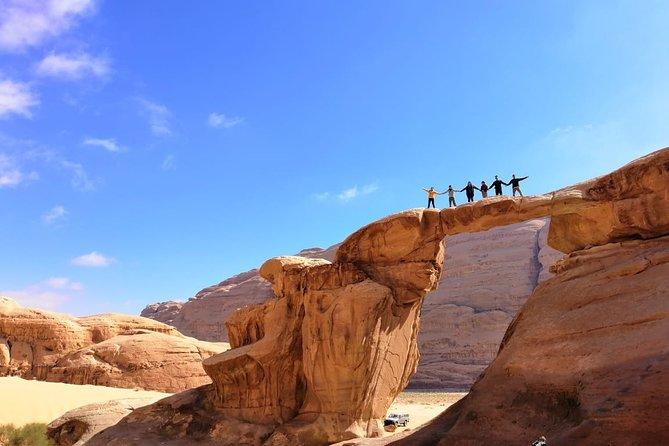 2 Days Wadi Rum and Petra Tour from Wadi Arava Border