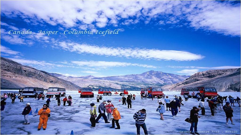 加拿大卡爾加里哥倫比亞冰原一日遊【經典冰原風景一日遊】