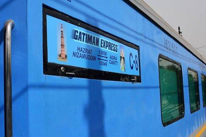 Full Day Taj Mahal Tour from Delhi by Gatimaan Express Train