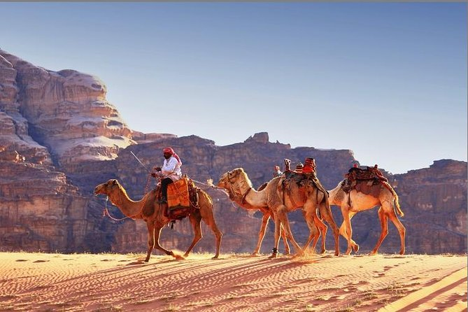 Private Full-Day Tour to Wadi Rum from Dead Sea