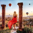 Pre-Sunrise Balloon Flight with Goreme Open-Air Museum and Underground City Tour