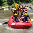 Ayung White Water Rafting with Red Paddles