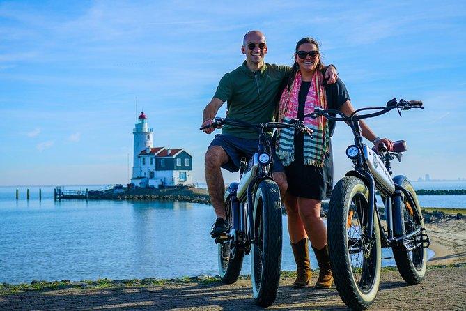 E-fatbike tour of Volendam & Marken including boat cruise
