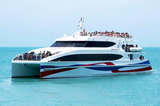 Koh Lanta to Koh Samui by Minivan, Lomprayah Coach and High Speed Catamaran