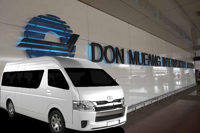 Private Van: Bangkok Don Muang Mini Van Transfer (DMK)