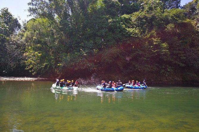 Kota kinabalu kiulu river rafting day trip