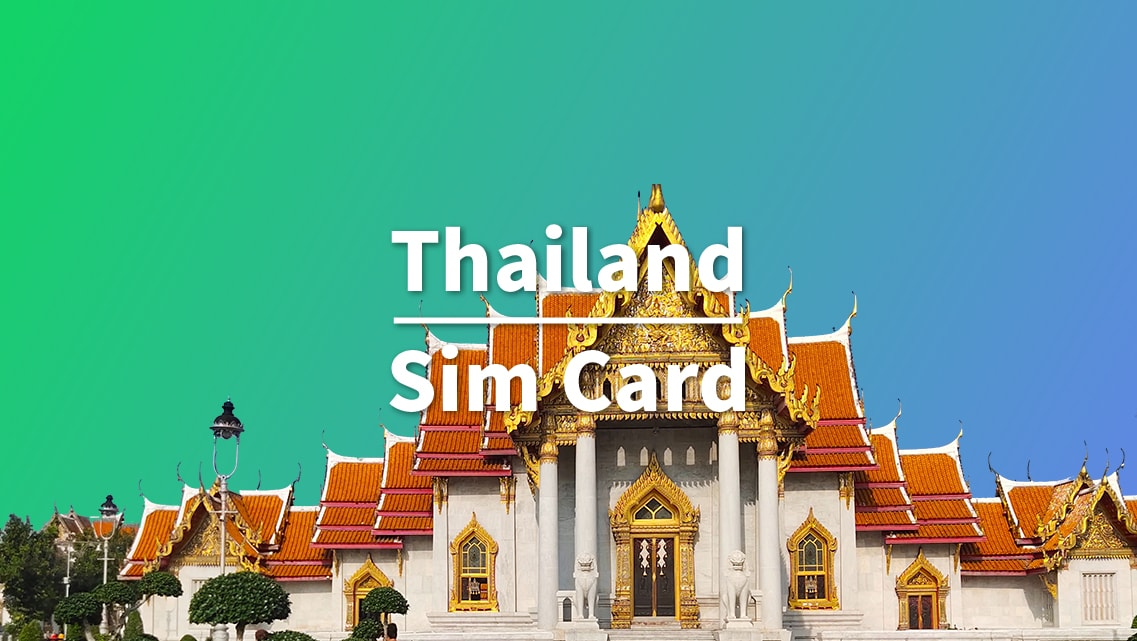 8 Day SIM Card for Thailand (Guangzhou Pickup)
