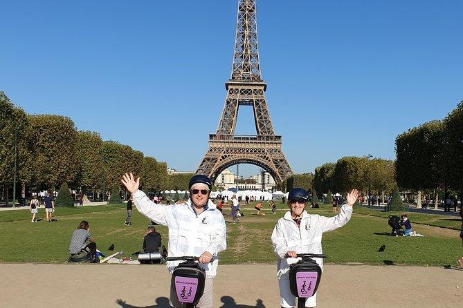 Segway tour in Paris + Eiffel Tower ticket (summit access)