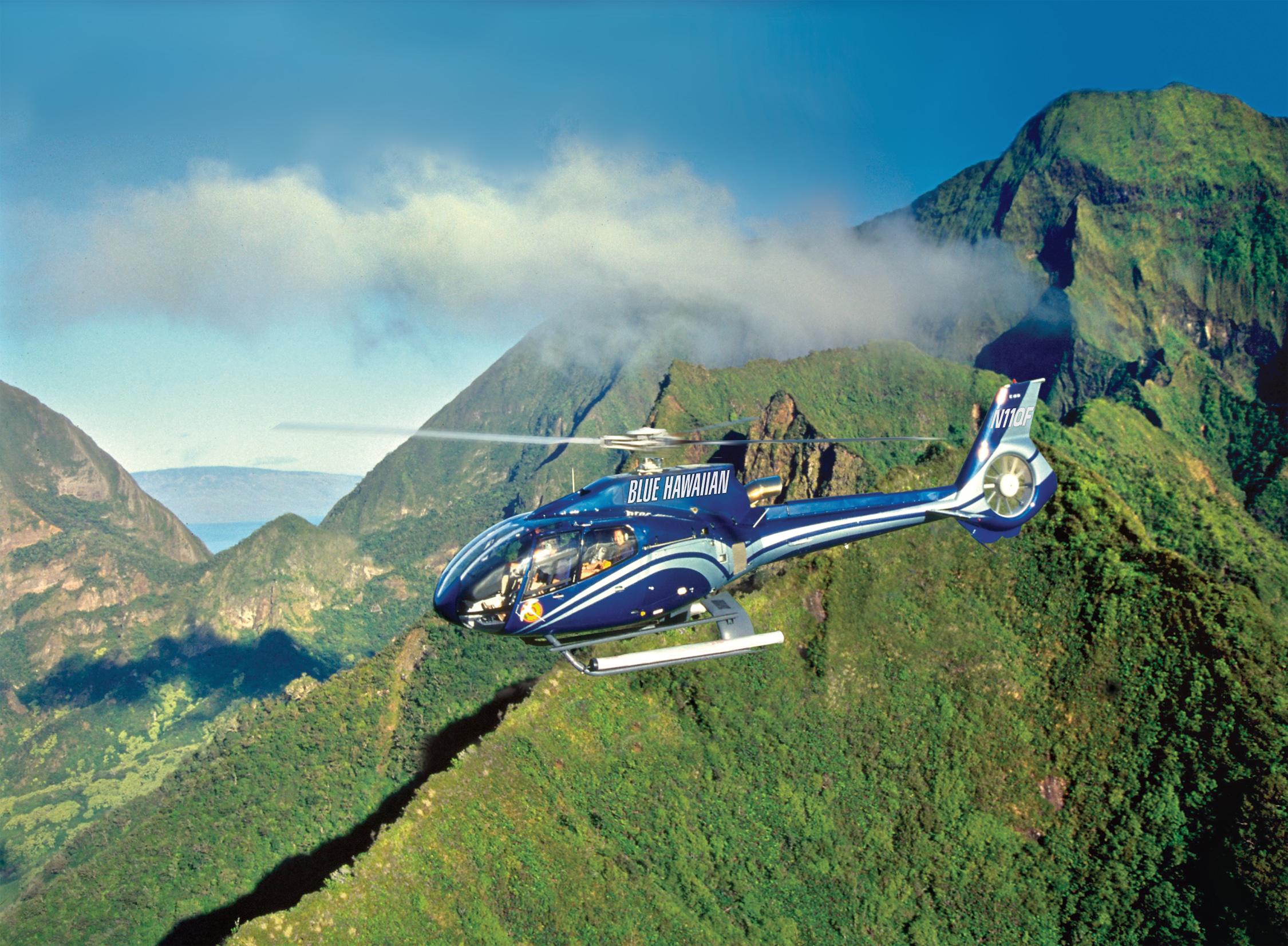 하와이 헬리콥터 투어 (빅아일랜드, 오아후, 마오이, 카우아이 섬 선택 가능)
