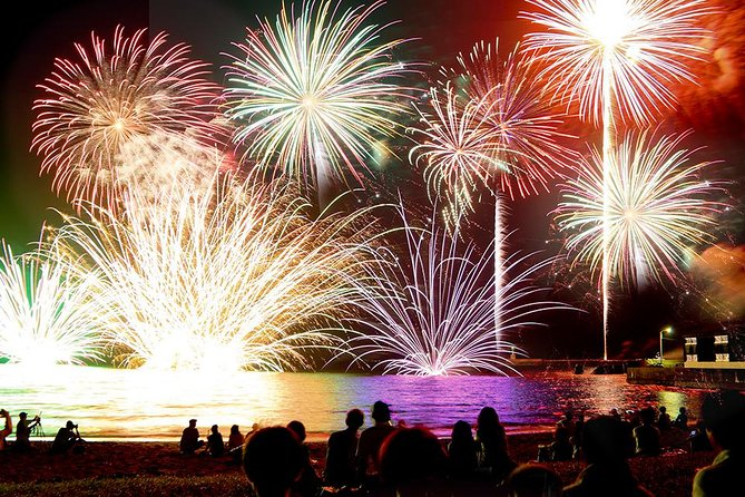 Fireworks Show including Kaiseki Dinner in Kisarazu