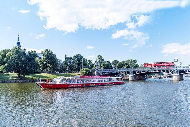 Red Sightseeing Stockholm Hop-On Hop-Off Bus & Boat