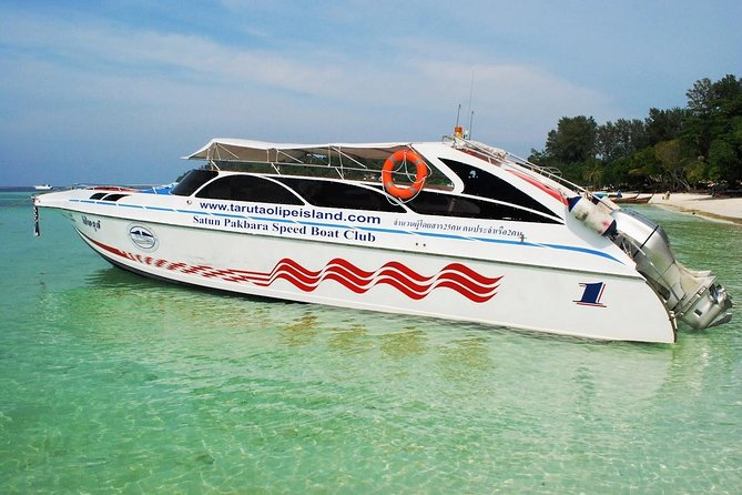 Hat Yai Town to Koh Lipe by Minivan and Satun Pakbara Speed Boat