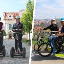 Private ♥Grandiose half-day guided Experience of Prague♥ on Segway & eScooter