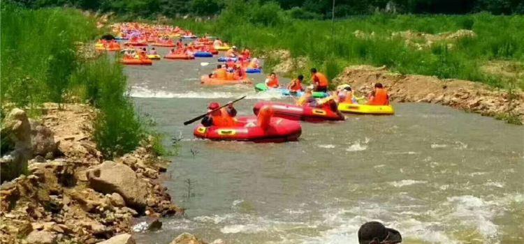 Zhuanshui Lake Rafting3