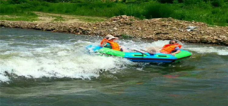 Zhuanshui Lake Rafting1