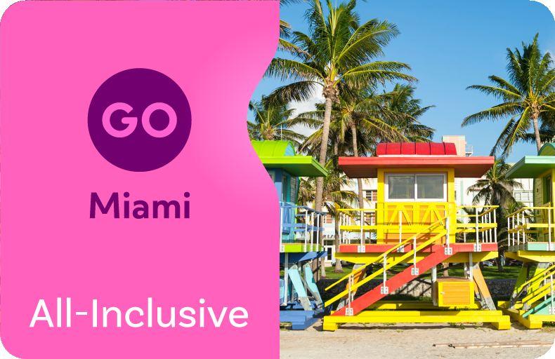 Go Miami All-Inclusive Pass (1/2/3/5 Day Pass)