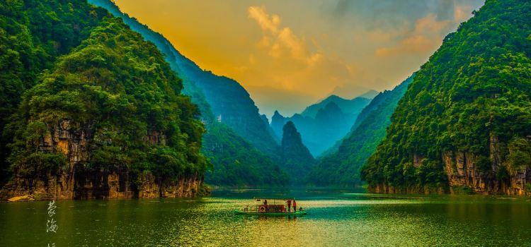 金秀聖堂湖生態旅遊景區2
