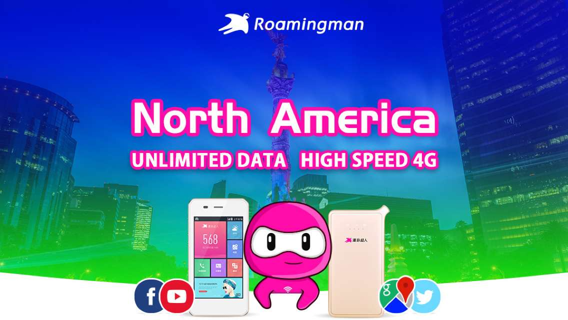 [Unlimited Data] 4G WiFi for USA/Canada/Mexico (Kuala Lumpur Pickup)